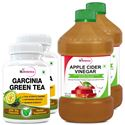 Picture of StBotanica Garcinia Green Tea 500mg Extract + Apple Cider Vinegar (2+2 Bottles)