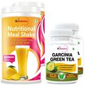 Picture of StBotanica Garcinia Green Tea 500mg Extract + Nutritional Meal Replacement Shake (2+2 Bottles)