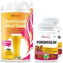 Picture of StBotanica Forskolin 500mg Extract + Nutritional Meal Replacement Shake (2+2 Bottles)