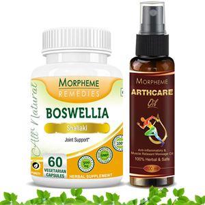 Picture of Morpheme Arthcare Oil Spray (100 ml) + Boswellia (Shallaki)