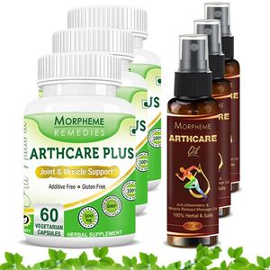 Picture of Morpheme Arthcare Oil Spray (100 ml) + Arthcare Plus (6 Bottles)