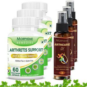 Picture of Morpheme Arthcare Oil Spray (100 ml) + Arthritis Support (6 Bottles)