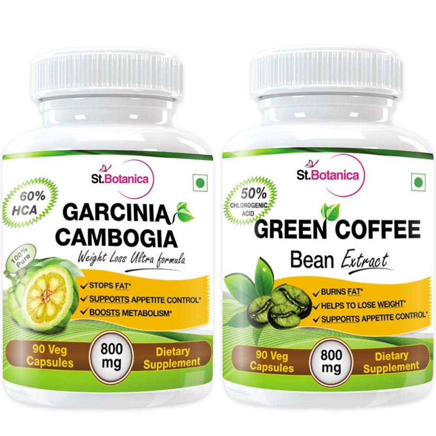 ... picture of stbotanica garcinia cambogia 60 hca 800mg green coffee bean  extract for weight ...