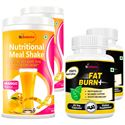 Picture of StBotanica Nutritional Meal Shake - Mango + Fat Burn+ (2 + 2 Bottles)