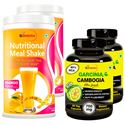 Picture of StBotanica Nutritional Meal Shake - Mango + Garcinia Cambogia Ultra 80% HCA 750mg (2+2 Bottles)