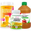 Picture of StBotanica Nutritional Meal Shake - Mango + Apple Cider Vinegar + Garcinia Cambogia 800mg 90 Caps