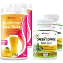 Picture of StBotanica Nutritional Meal Replacement Shake - Mango + Green Coffee Bean Extract 90 Caps - 4 Bottles (2+2)