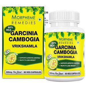 Picture of Morpheme Garcinia Cambogia 500mg Extract 90 Veg Capsules