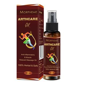 Picture of Morpheme ArthcareOil For Joints, Muscular Pain, Back and Knee Pain (50 ml)