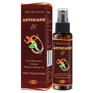 Picture of Morpheme ArthcareOil For Joints, Muscular Pain, Back and Knee Pain (100 ml)