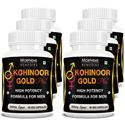 Picture of Morpheme Kohinoor Gold Plus 500mg Extract 90 Veg Capsules - Buy 3 Get 3 Free