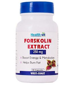Picture of Healthvit Forskolin Extract  250mg 60 Capsules