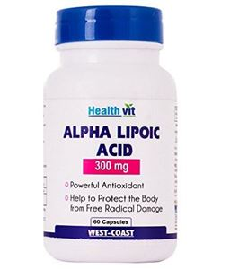Picture of Healthvit Alpha Lipoic Acid 300mg 60 Capsules