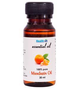 Picture of Healthvit Mandarin Essential Oil-30ml