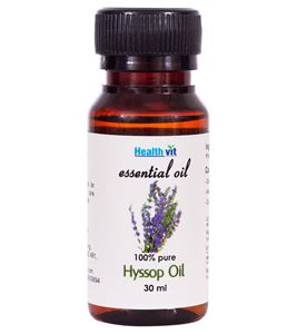 Picture of Healthvit Hyssop Essential Oil- 30ml