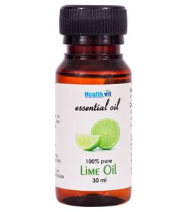 Picture of Healthvit Lime Essential Oil- 30ml