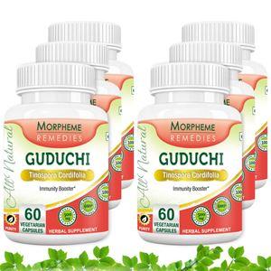 Picture of Morpheme Guduchi (Tinospora Cordifolia) - 500mg Extract - 60 Veg Caps - 6 Bottles