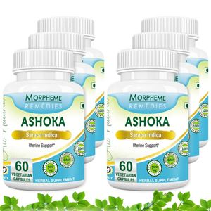 Picture of Morpheme Ashoka Caps for - 500mg Extract - 60 Veg Caps - 6 Bottles