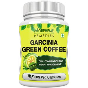 Picture of Morpheme Garcinia Green Coffee 500mg Extract 60 Veg Caps