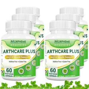 Picture of Morpheme Arthcare Plus Caps - 500mg Extract - 60 Veg Caps - 6 Bottles