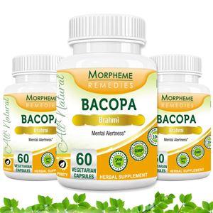 Picture of Morpheme Bacopa (Brahmi) Caps 500mg Extract 60 Veg Caps - 3 Bottles
