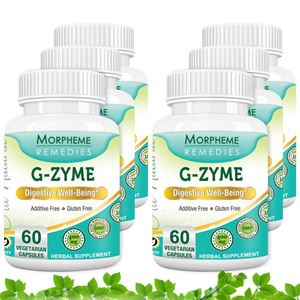 Picture of Morpheme G-Zyme Caps - 500mg Extract - 60 Veg Caps - 6 Bottles
