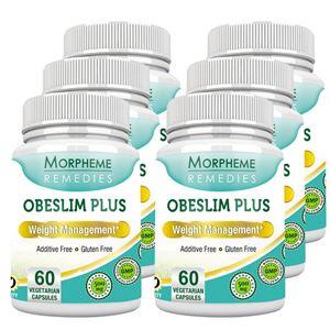 Picture of Morpheme Obeslim Plus 500mg Extract 60 Veg Caps - 6 Bottles