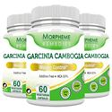 Picture of Morpheme Garcinia Cambogia - HCA 60% 500mg Extract 60 Veg Caps - 3 Bottles