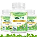 Picture of Morpheme Khadir (Acacia Catechu) 500mg Extract 60 Veg Caps - 3 Bottles