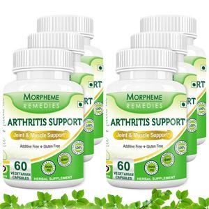 Picture of Morpheme Arthritis Support - 600mg Extract - 60 Veg Caps - 6 Bottles