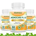 Picture of Morpheme Memocare Plus - 500mg Extract - 60 Veg Caps - 3 Bottles