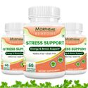 Picture of Morpheme Stress Support - 600mg Extract - 60 Veg Caps - 3 Bottles