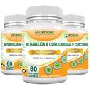 Picture of Morpheme Boswellia & Curcumin 500mg Extract 60 Veg Caps - 3 Bottles