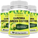 Picture of Morpheme Garcinia Green Coffee 500mg Extract 60 Veg Caps - 3 Bottles
