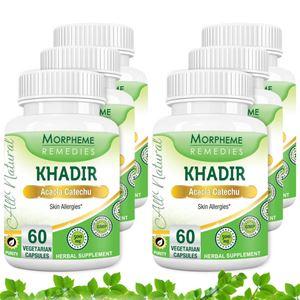 Picture of Morpheme Khadir (Acacia Catechu) 500mg Extract 60 Veg Caps - 6 Bottles