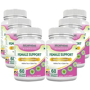 Picture of Morpheme Female Support 600mg Extract 60 Veg Caps - 6 Bottles