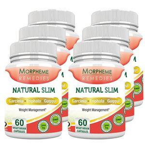 Picture of Morpheme NaturalSlim (Garcinia) 500mg Extract 60 Veg Caps - 6 Bottles