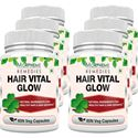 Picture of Morpheme Hair Vital Glow 500mg Extract 60 Veg Caps - 6 Bottles