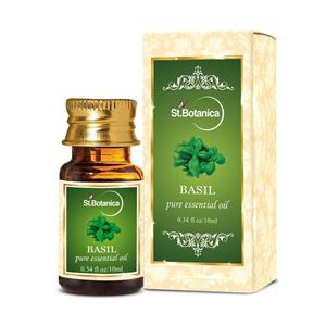 Picture of St.Botanica Basil Pure Aroma Essential Oil, 10ml