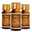 Picture of St.Botanica Almond Pure Coldpressed Carrier Oil, 30ml - 3 Bottles