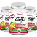 Picture of StBotanica Garcinia Cambogia Slim - 500mg Extract - 60 Veg Caps - Pack Of 3