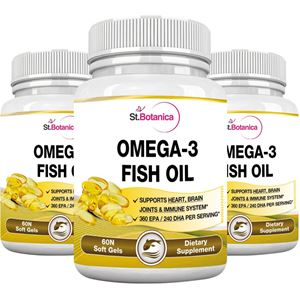 Picture of St.Botanica Fish Oil Omega 3 - 60 Softgels - Pack Of 3
