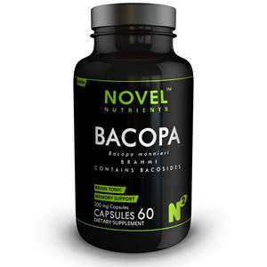 Picture of BRAHMI ( BACOPA ) 300 MG CAPSULES- MEMORY SUPPORT