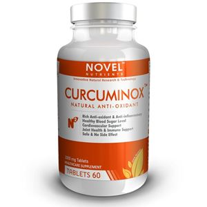 Picture of CURCUMINOX TM 1000 MG TABLETS - NATURAL ANTI-OXIDANT