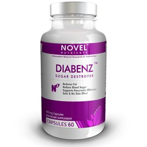 Picture of DIABENZ TM 450 MG CAPSULES - REDUCE BLOOD SUGAR