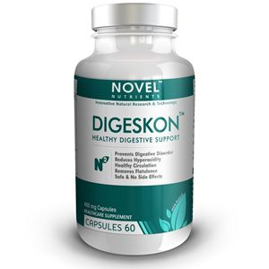 Picture of DIGESKON TM 450 MG CAPSULES- DIGESTIVE SUPPORT