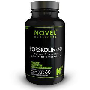 Picture of FORSKOLIN-40 125 MG CAPSULES -FAT BURNER