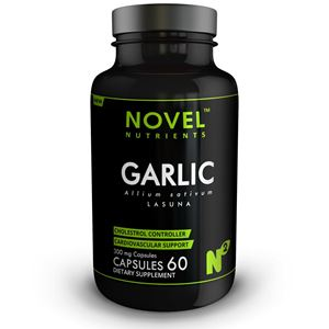 Picture of LASUNA ( GARLIC ) 300 MG CAPSULES- CARDIOVASCULAR SUPPORT