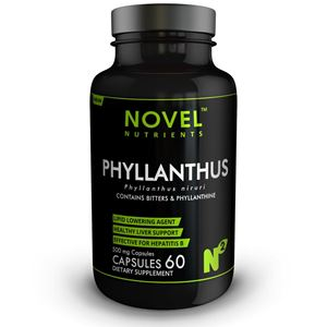 Picture of TAMALAKI (PHYLLANTHUS) 500 MG CAPSULES- HEALTHY LIVER SUPPORT