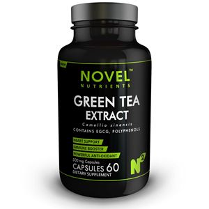 Picture of GREEN TEA EXTRACT 500 MG CAPSULES-HEART SUPPORT